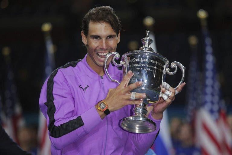 Rafael Nadal terá que defender 4000 (!) pontos em apenas cinco semanas