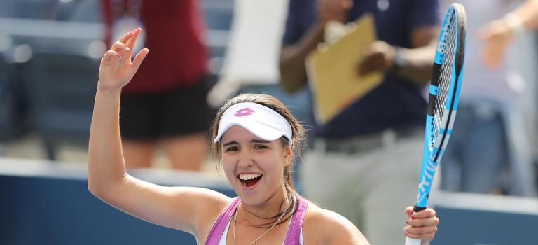 Campeã júnior do US Open deixa bonita mensagem a Federer