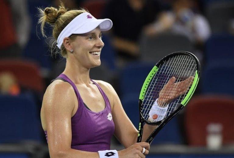 Riske derrota Kvitova e alcança final mais importante da carreira em Wuhan