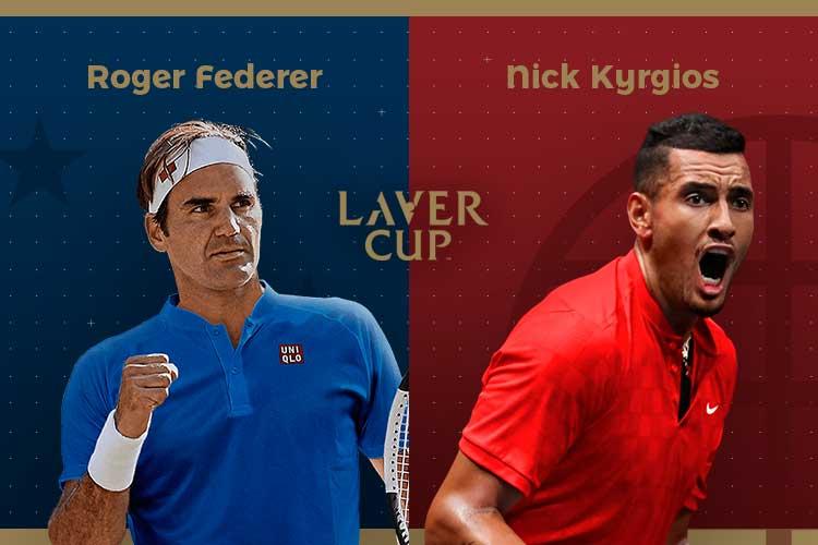 Laver Cup 2019: siga Roger Federer vs Nick Kyrgios no nosso live center