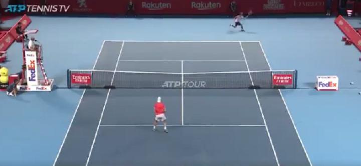 [VÍDEO] Nishioka derrotou Sousa com pontos à… Nadal