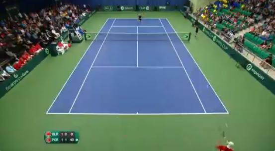 [VÍDEO] Sousa bateu Ivashka com pontos incríveis… como este