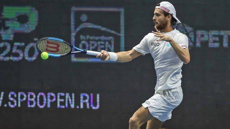 João Sousa defronta número um sueco na primeira ronda do ATP 250 de Estocolmo