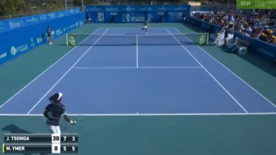 [VÍDEO] A jogar no circuito Challenger, Tsonga dá espetáculo e faz um dos pontos de 2019