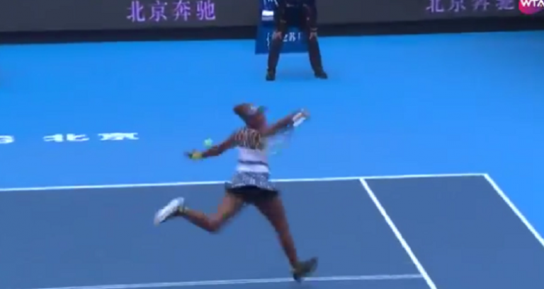 [VÍDEO] A caminho dos 40 anos? Venus fez isto rumo à vitória em Pequim