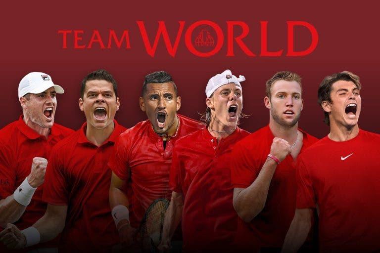 Laver Cup: equipa do Mundo fica fechada com (mais) dois americanos
