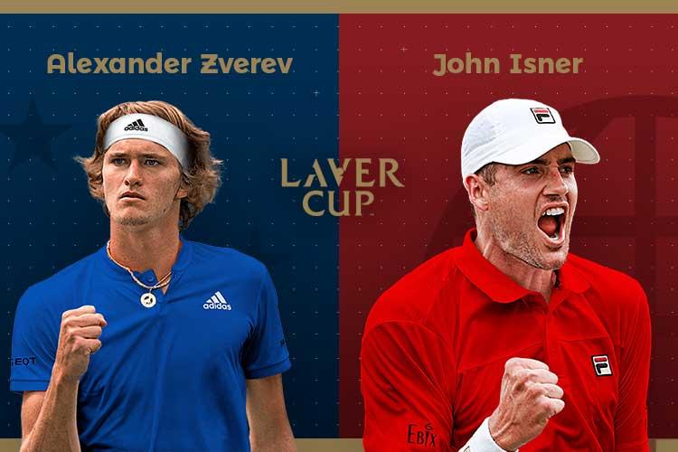 Laver Cup 2019: siga Alexander Zverev vs John Isner no nosso live center