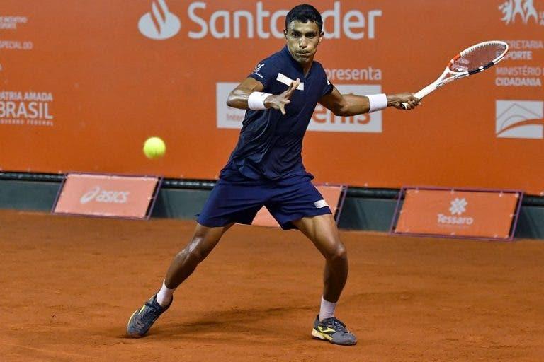 Thiago Monteiro eliminado na sua estreia do Challenger de Campinas