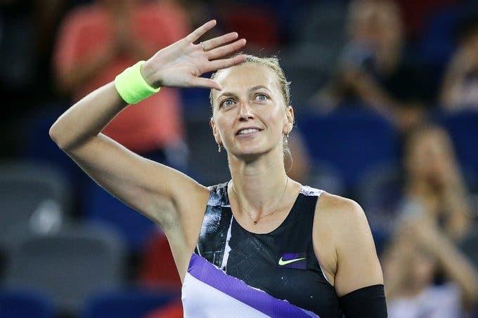 Kvitova: «O meu objetivo para 2020 é estar bem fisicamente»
