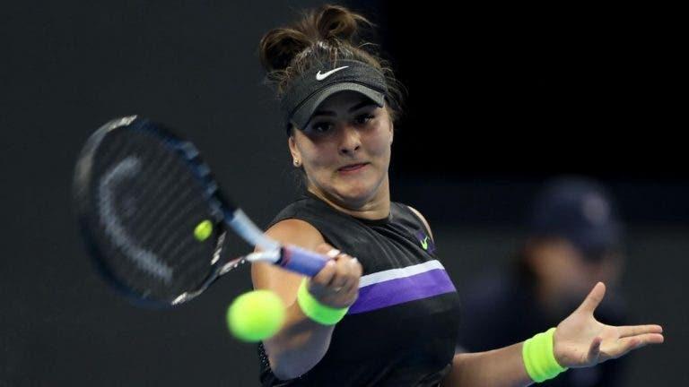 Andreescu sem dúvidas: «Considero-me uma tenista diferente do resto»
