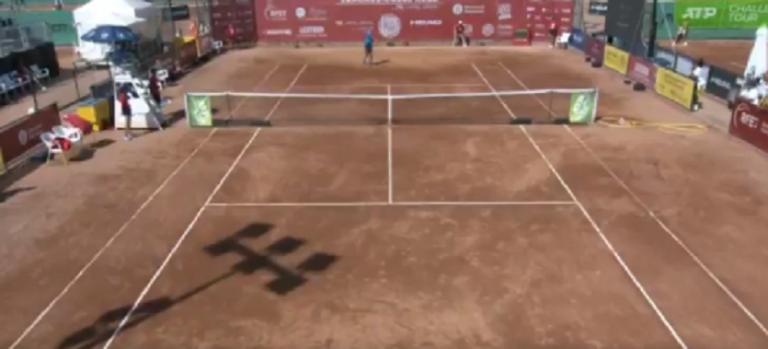 [VÍDEO] Davidovich faz uma das duplas faltas mais incríveis de sempre em pleno match point