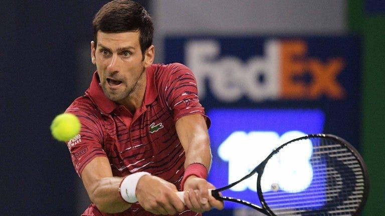 Djokovic explica como surgiu a lesão no ombro e diz que continua a precisar de cautela