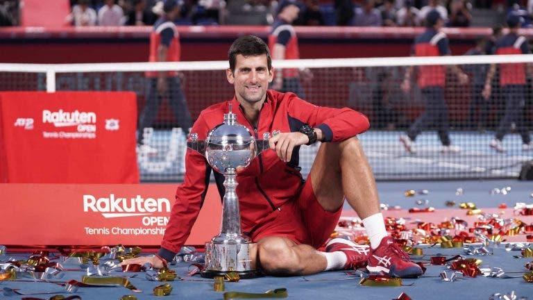 Djokovic garante liderança do ranking mundial até, pelo menos, ao ATP 1000 de Paris