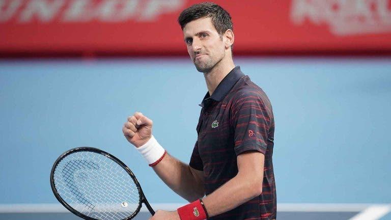 Djokovic após o título em Tóquio: «O meu ténis foi superior ao dos últimos dois meses»