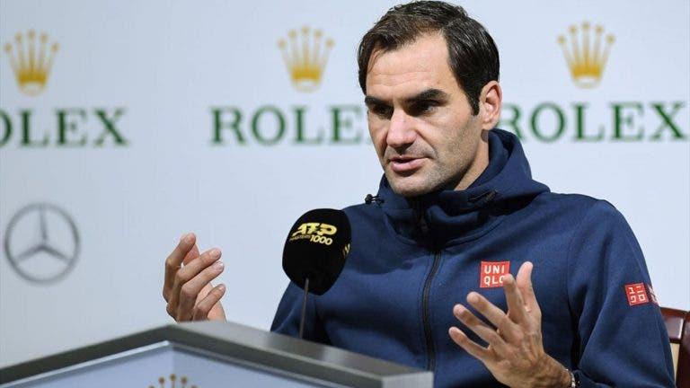 Federer: «Opelka é chato? Gosto desses adversários»