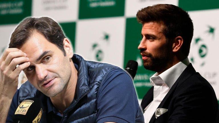 Presidente da ITF: «Federer e Piqué têm de falar, vão ver que têm muita coisa em comum»