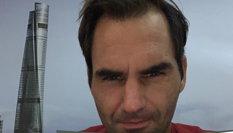 Roger Federer descobriu a pizza… de Novak Djokovic