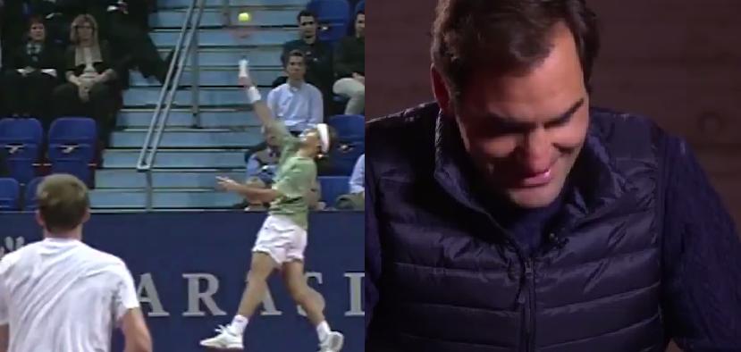 [VÍDEO] Federer recorda ponto épico: «Um dos melhores da minha carreira»