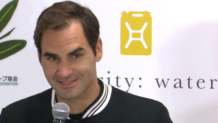 Federer: «O meu coração decidiu voltar aos Jogos Olímpicos»