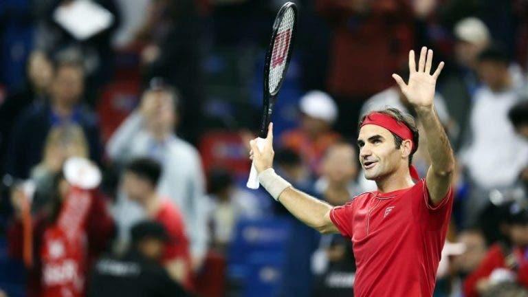 Federer iguala Nadal e os dois tornam-se nos tenistas com mais vitórias de sempre em Masters 1000