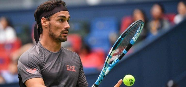 Os jogadores em ação esta semana e que ainda lutam por uma vaga nas ATP Finals