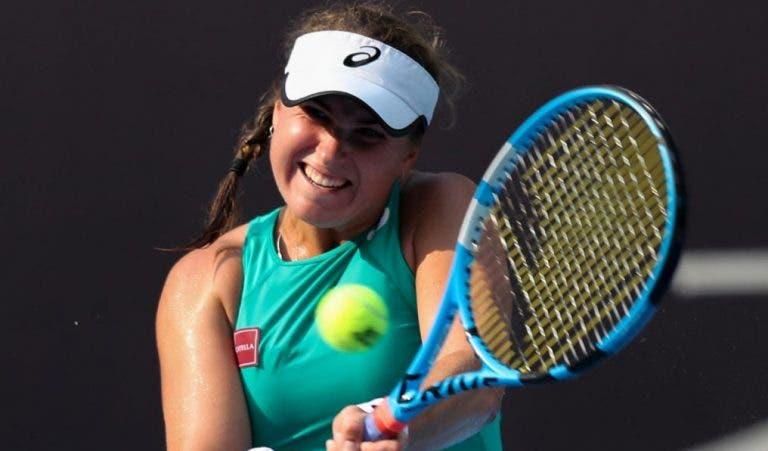 Sem público e em campo indoor, Peterson vence WTA de Tianjin e alcança melhor ranking da carreira