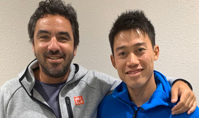 Nishikori termina relação com treinador ao fim de 9 anos