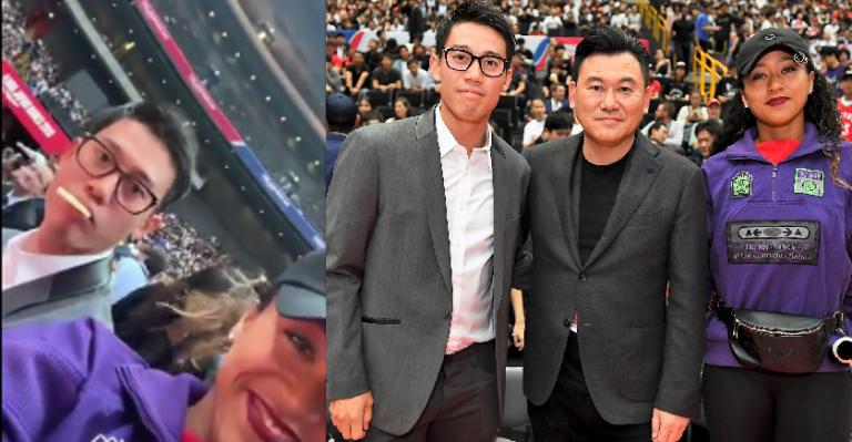 Osaka e Nishikori foram juntos à NBA… e a japonesa publicou vídeo viral
