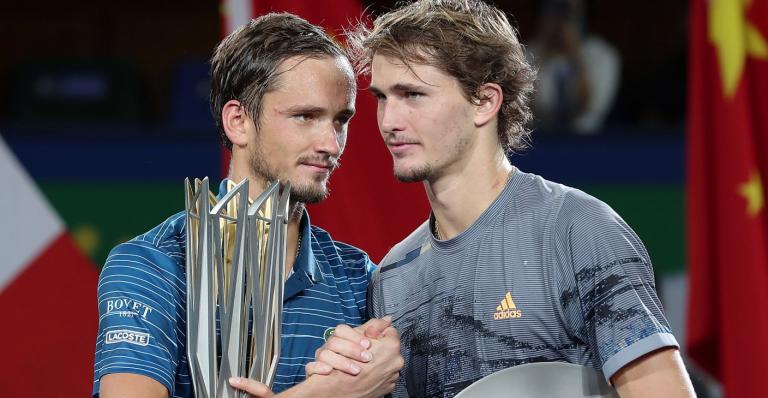 ATP Finals: Medvedev vs. Zverev definirá o elenco das duas meias-finais