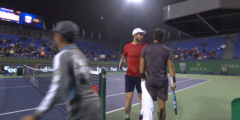 [Vídeo] Murray perde a paciência com Fognini e confronta-o: «Cala a boca!»