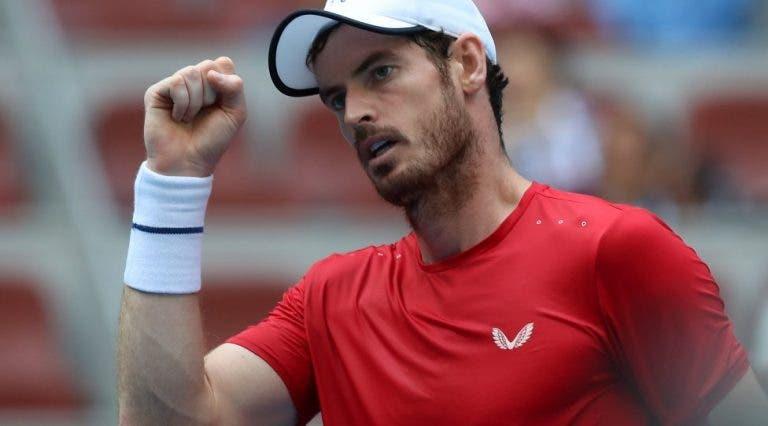 Murray: «Bom resultado na Austrália? Conseguir jogar cinco sets sem dor»