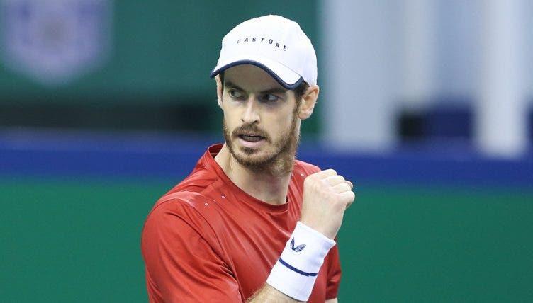 Andy Murray entra a ganhar no ATP 250 de Antuérpia