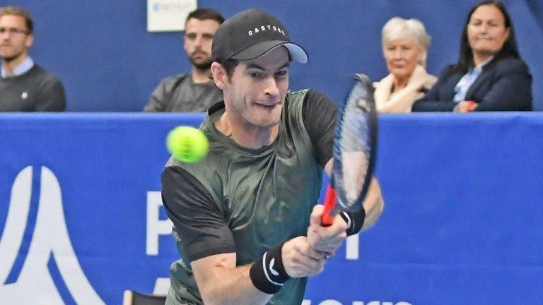 Murray: «Os resultados não importam. Quero preparar o US Open»