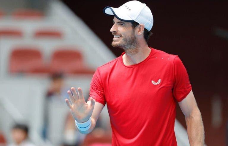 Murray sobre o seu regresso à competição: «Acho que o pior já passou»