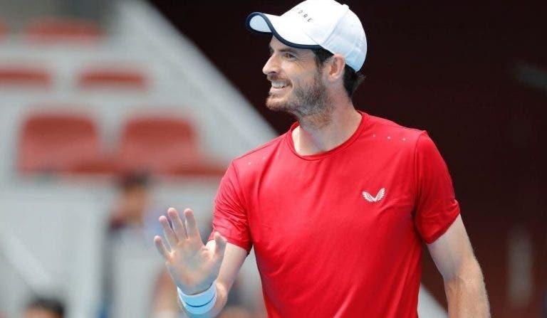 Más notícias para Murray: ainda não treina devido a lesão na virilha
