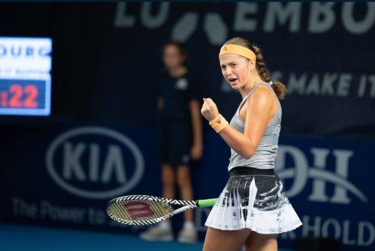Duas semanas, duas finais para Jelena Ostapenko