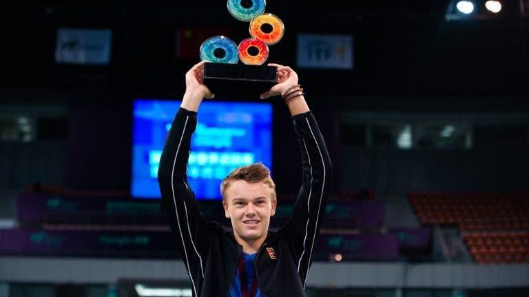 Decore o nome: Holger Rune, campeão do Mundo de juniores em 2019
