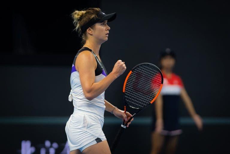 Svitolina avança em Pequim e deixa Serena mais longe das WTA Finals