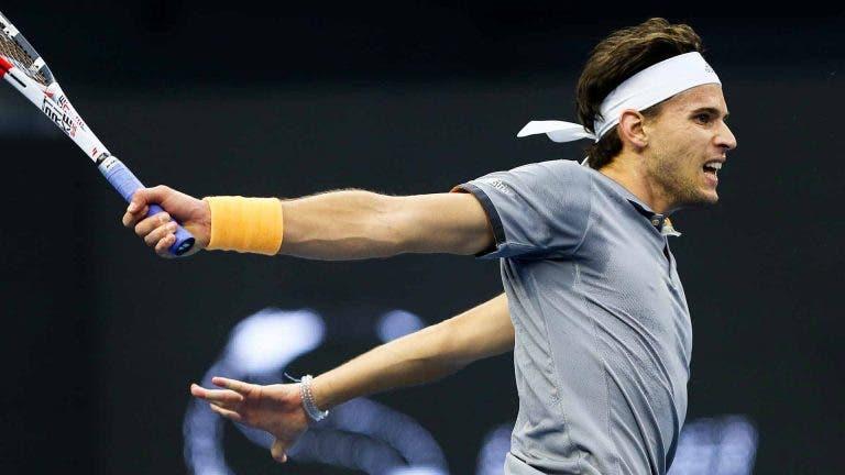 Thiem após qualificação para as ATP Finals: «Era um objetivo que tinha desde o início da temporada»