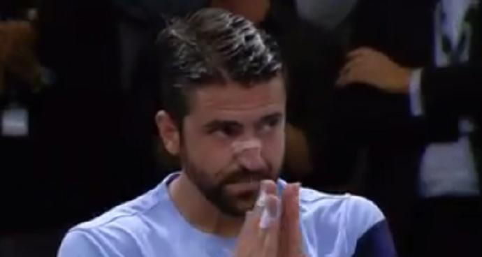[VÍDEO] Foi assim o último ponto da carreira de Tipsarevic num torneio ATP