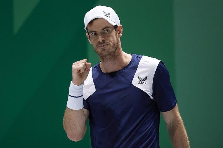 Murray regressa no Queen's Club… contra Benoit Paire