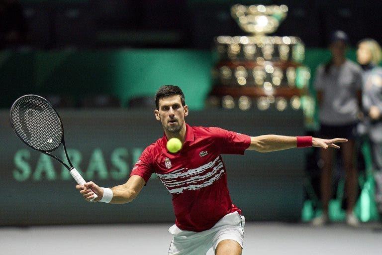 Djokovic sugere mudanças no formato da Taça Davis e explica o motivo