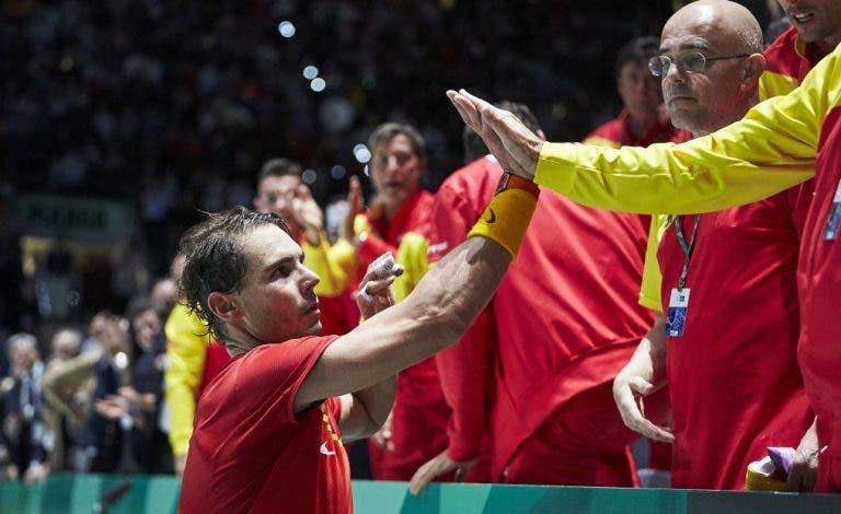 Sorteio das Davis Cup Finals de Madrid é esta quinta-feira