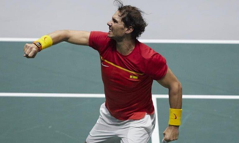 Não perdoa! Nadal derrota Shapovalov e Espanha conquista 6.ª Taça Davis da história