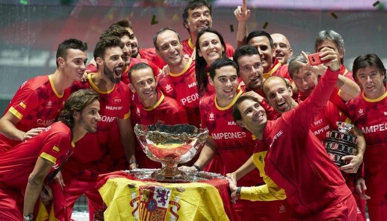 Davis Cup Finals dividem-se por três cidades com Madrid no centro