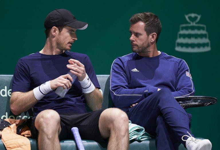 Capitão da Grã-Bretanha não confirma regresso de Murray: «Esteve cinco semanas sem competir»