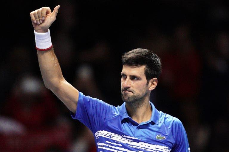 Djokovic e o 'big3': «Vamos tentar prolongar o nosso domínio, mas a mudança será inevitável»