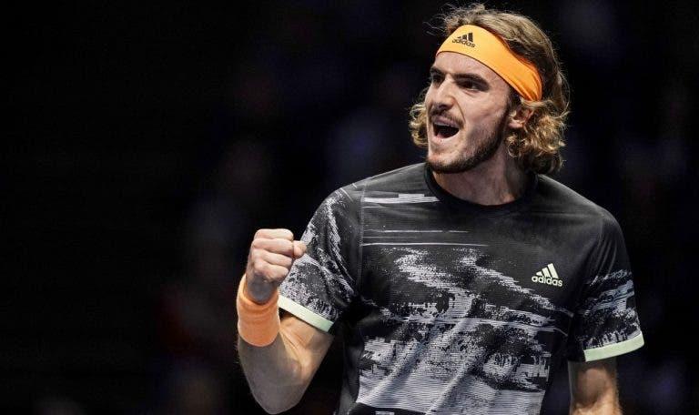 Tsitsipas é o jogador mais novo a vencer as ATP Finals desde… 2001