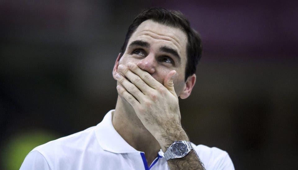 Federer em lágrimas ao ouvir mensagem de Maradona