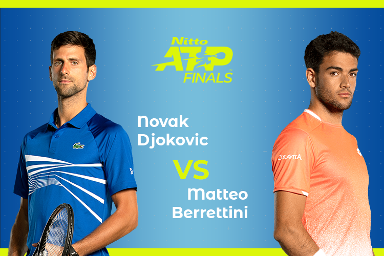 ATP Finals Djokovic Berrettini